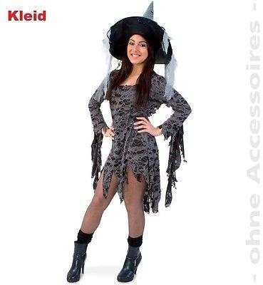 Fasching Halloween Kostüm Voodoo Queen Zauberin Kleid Gr. 46 NEU
