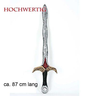 Krieger Schwert Rubin Fantasy Halloween Horror Waffe War Craft 125871713