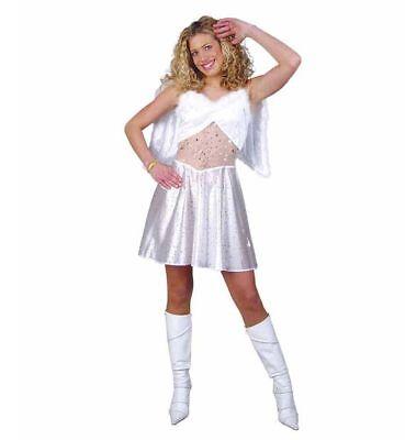 Sexy Engel Kostüm Gr. 38 - 42 Engelskostüm für Damen Weihnachten - Weihnachten Kostüm Für Damen