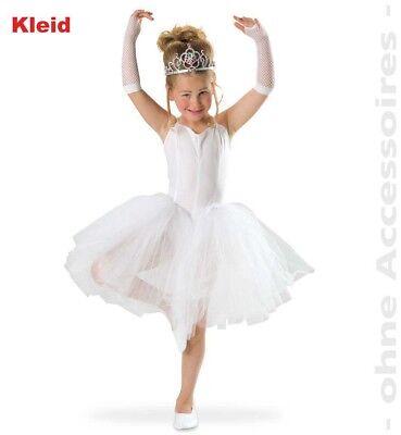 Ballerina weiß 2. Wahl Kostüm 116-164 Ballerinakleid Fasching Karneval 121117813 (Ballerina Kleid Kostüm)