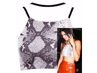 Kendall Jenner inspired crop top sizes 12/14