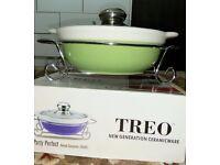 Treo Ceramic Casserole brand new in box