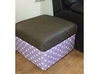 Blanket box / storage stool FREE DELIVERY