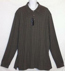 Men 39 S Van Heusen Pullover Long Sleeve Polo Shirt 2xlt