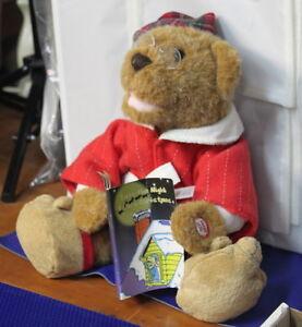 "Talking ""T'S THE NIGHT BEFORE CHRISTMAS"" TEDDY BEAR Kingston Kingston Area image 3"