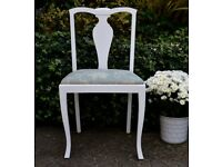 Restored Antique Edwardian Dinning Room Chair