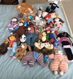 Gruffalo and other plush toys