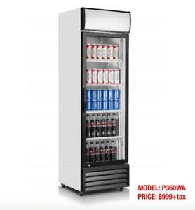 COMMERCIAL SINGLE DOOR DISPLAY-Refrigerators--CLEARANCE SALE!!!