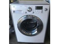 LG steam direct drive medic 8KG washing machine free delivery