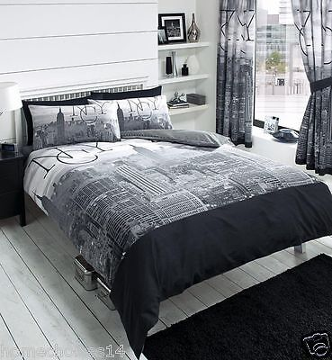 New York Duvet Cover Quilt Cover Bedding Set in All Sizes