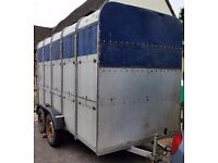 IFOR Williams Stock or Horse Trailer