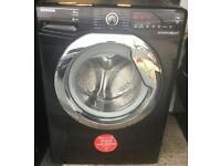 Hoover Washing Machine 9Kg in Black **Great Condition** BARGAIN £120!