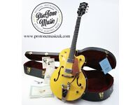 2004 Gretsch G6118T-120th Anniversary Bamboo Yellow & Copper Mist & Original Case & Tags