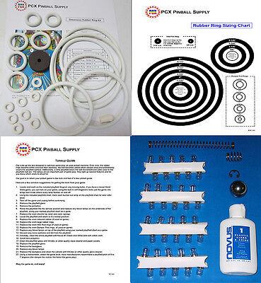1971 Gottlieb Dimension Pinball Machine Tune-up Kit