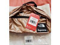 Supreme X The North Face Rose Gold Lumbar Bag