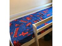 Kids Mid-sleeper bed with mattress!