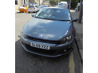 VW Scirocco coupe 2.0 TDi, 55k miles, '09, excellent condition, £9300 ono