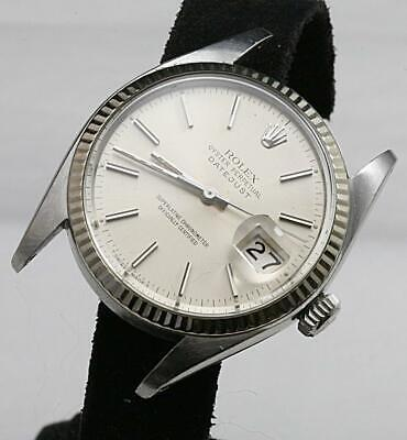 Vintage ROLEX Oyster Perpetual Datejust Ref 16014 Automatic Cal 3035 27 Jewels