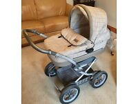 BABY TRAVEL SYSTEM - CARRYCOT, PUSHCHAIR, CARSEAT & RAIN COVER