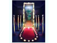 The Magic Mirror Booth - The Latest Photo Booth - Hire for any Special Occasions