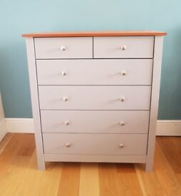 6 Drawer Cabinet in Grey color brand New Wayfair
