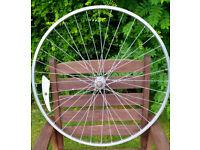 Van Schothorst 28 x 1 5/8 alloy bike front wheel