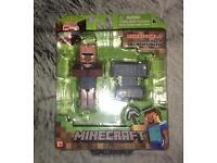 Minecraft Overworld Villager Blacksmith BNIB