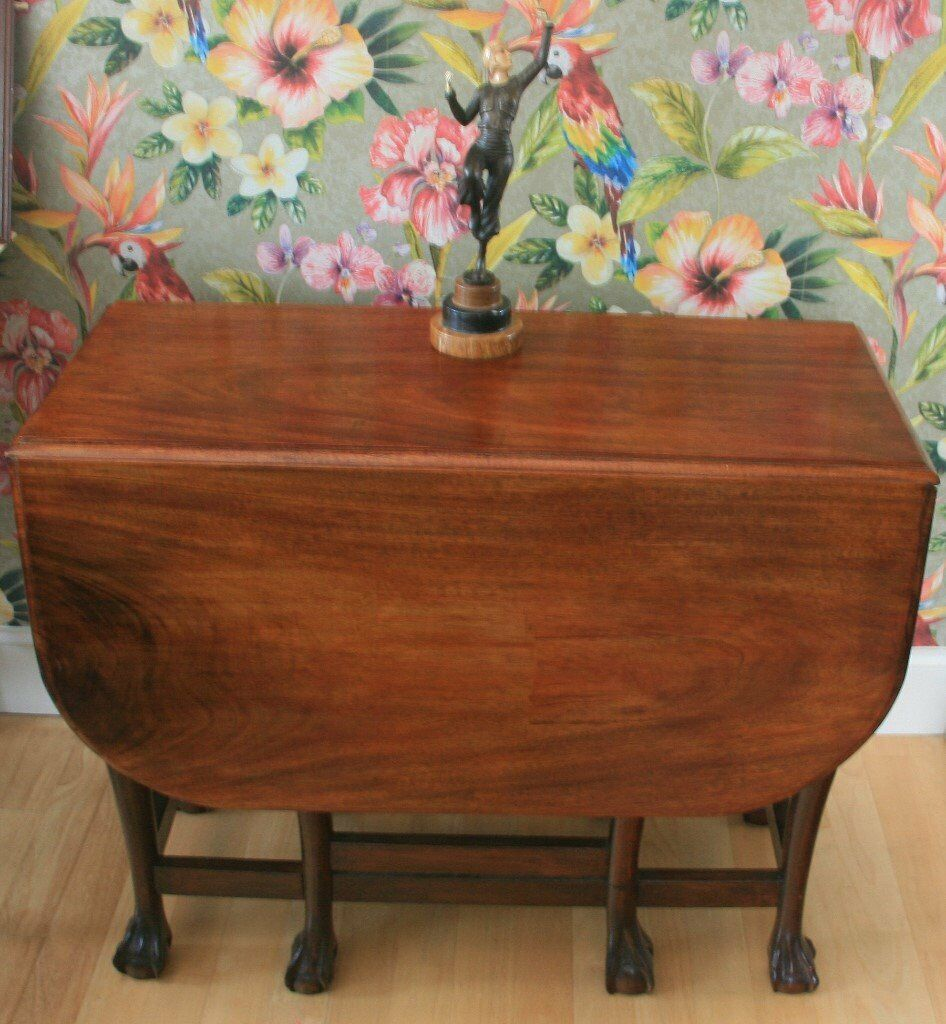 Mahogany Pembroke Gate Leg Table