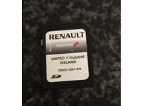 Renault Sat Nav Tom Tom SD Card (Original). £50!!