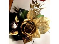 Metallic Roses that never wither - Silver, Gold, Copper, Glitter