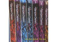 Vampire Diaries Seasons 1-6 DVD's for sale