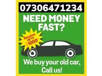 💷 CASH FOR CAR VAN BEST PRICE FOR SCRAP COLLECTION TODAY