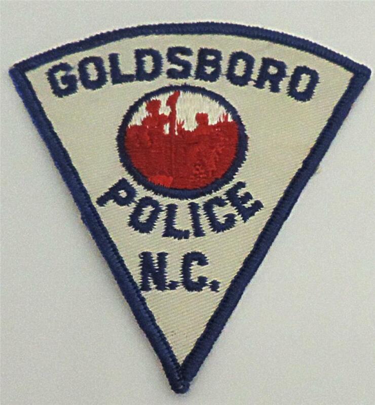 Goldsboro North Carolina Police Patch