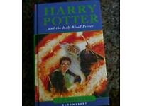 Harry Potter signed first edition