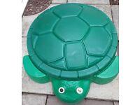 Little tikes turtle sand box £15