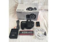 Canon 60d box and accessories in very good condition