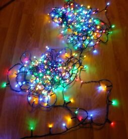 360 string lights and a rope light