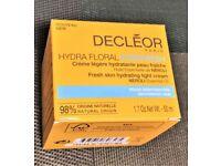 Decleor Hydra Floral Everfresh Skin Hydrating Light Cream 50ml New & B