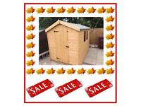 7x5 Apex £339.00 HIGH QUALITY x16mm T&G (FREE DELIVERY AND INSTALLATION) ALL SIZES AVAILABLE