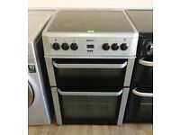 BEKO - Silver , 60cm , Ceramic , Fan Assisted ELECTRIC COOKER