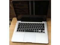 FAULTY Apple Macbook Pro 2010 A1278 Unibody Aluminium faulty / broken for spares or repairs