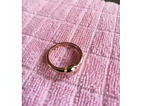 Beautiful Victorian rose gold diamond ring
