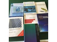 Selling Textbooks used during business degree - worth over £250 altogether