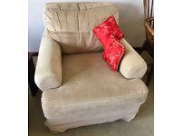 Two Ikea armchairs