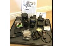 Rolleiflex SL2000F + lenses and accessories