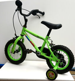 "Apollo Marvin the Monkey Kids' Bike - 12"". Little use, 2 Available."