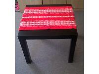 Sale black colour small Ikea tables