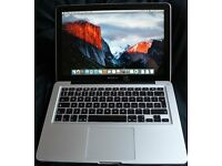 Macbook pro 13 Inch 2.7 ghz i7 4gb Ram 500gb HDD