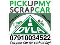 SCRAP CARS VANS WANTED DAMAGED NON RUNNER NO MOT WE BUY YOUR SELL MY FAST COLLECTION