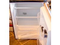 Indesit Fridge TLAA 10 SI (Silver - painted black on some panels) £45 ONO